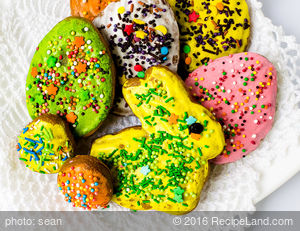 Easter Fun Sugar Cookies