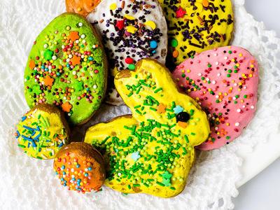 Easter Fun Sugar Cookies