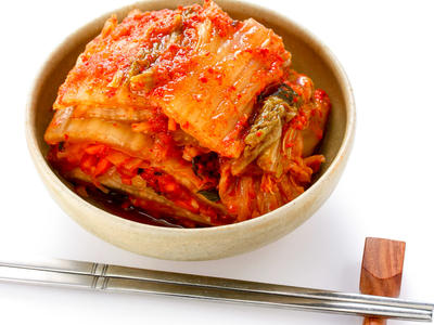Kimchi (Korean Cabbage Relish)