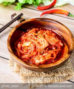 Flaming Orange Habanero Kimchee