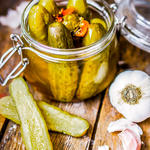 Candied Dill Pickles