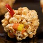 Halloween Popcorn Peanut Pumpkins