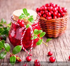 Cranberry Apple Preserves
