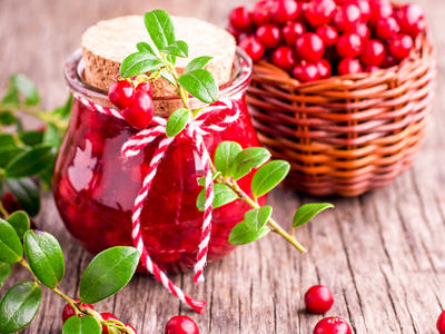 Cranberry Apple Preserves