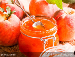 Mrs. Johnson's Peach Preserves