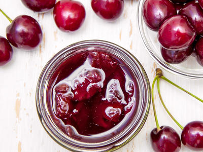All Natural Cherry Preserves