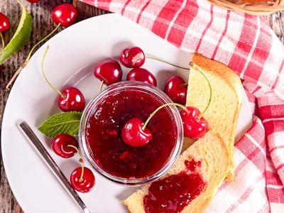 Spiced Cherry Orange Jam