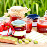 Summer Rhubarb-Strawberry Jam