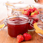 Fruit-Sweetened Strawberry Jam
