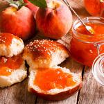 Ginger Peach Jam