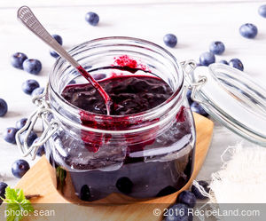 Amy's Blueberry Rhubarb Jam