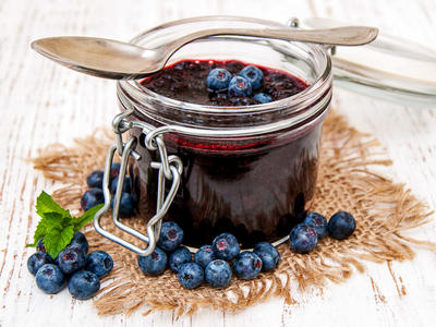 Blueberry Sour Cherry Jam