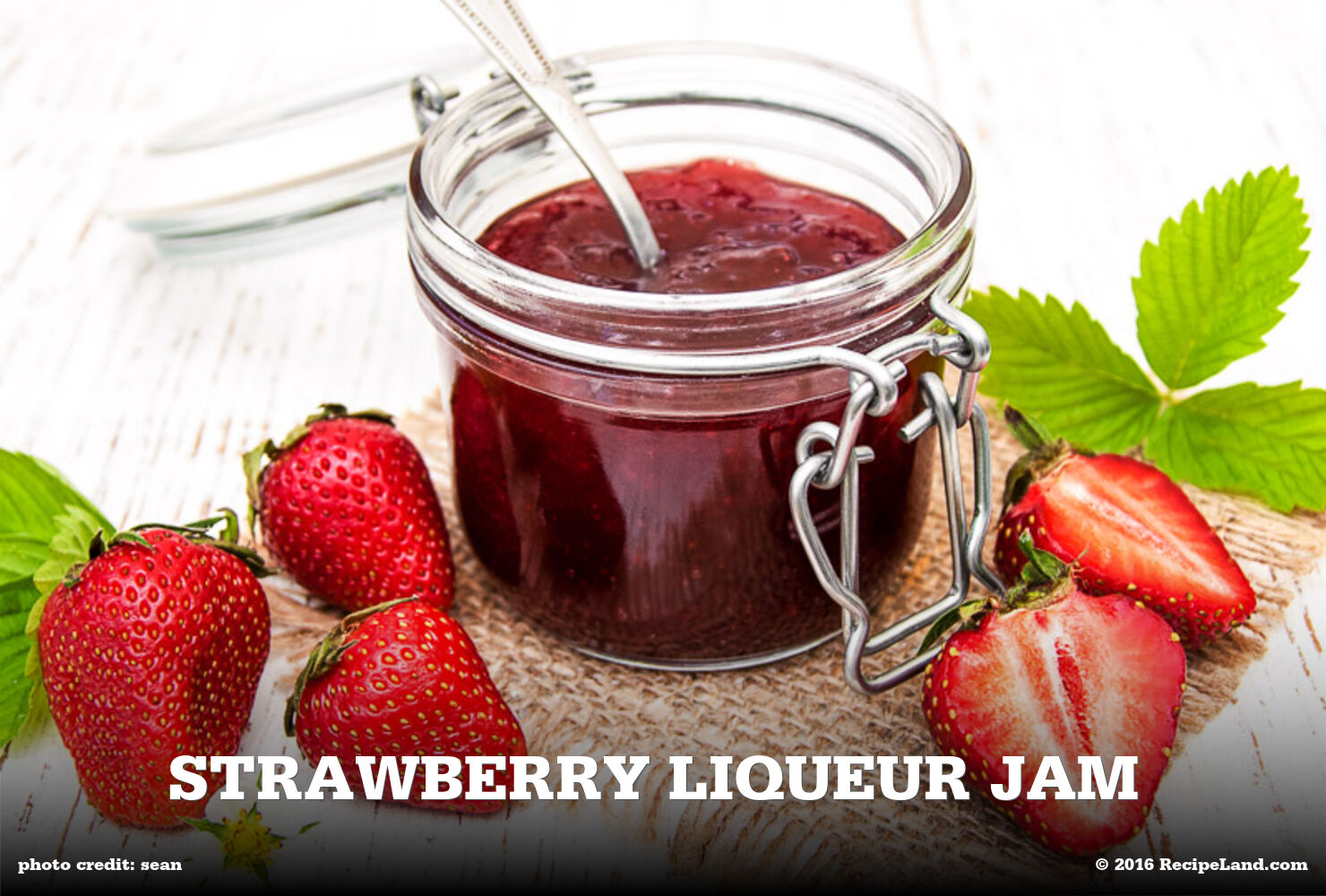 Strawberry Liqueur Jam