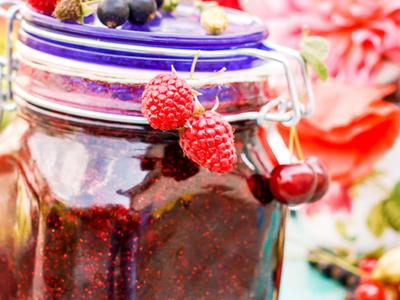 Cherry and Raspberry Jam
