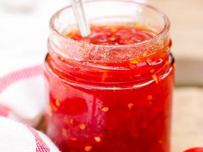 Domatoules Glyko (Spicy Cherry Tomato Preserves)