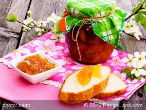 Nectarine and Raspberry Preserves