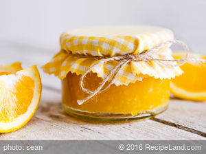 Tangy Orange Marmalade