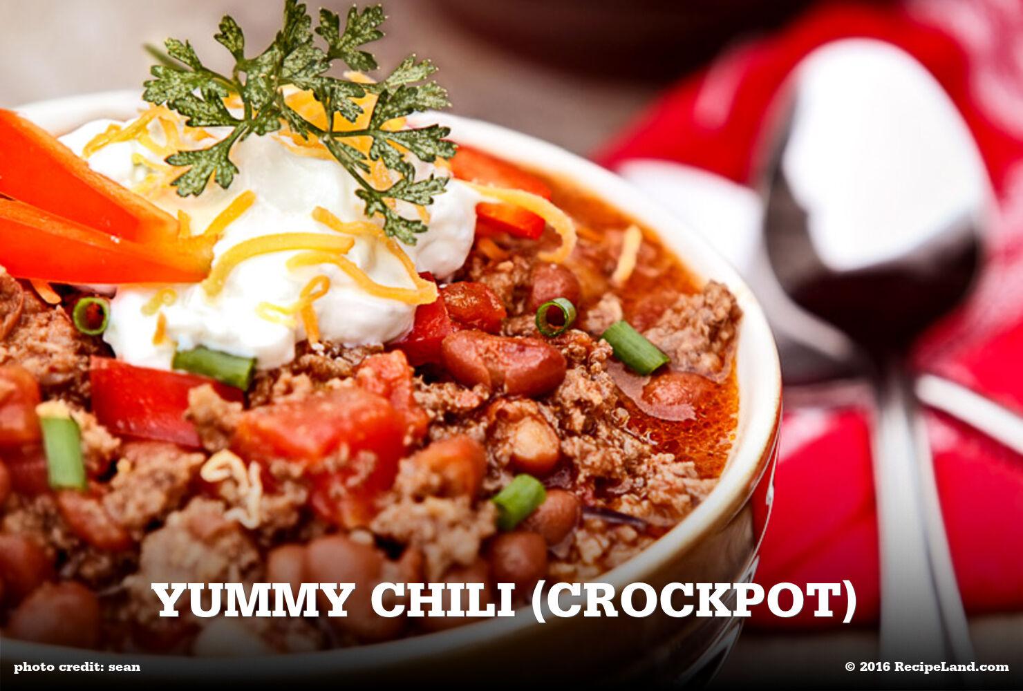 Yummy Chili (Crockpot)