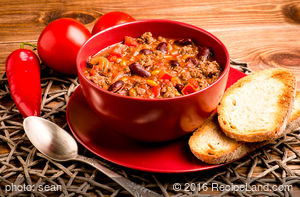 Pete and Shannon's Damn Good Chili