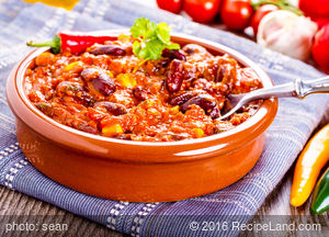 Slippery Sam's Cowboy Chili