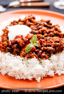 Vegetarian Chili Texas Style