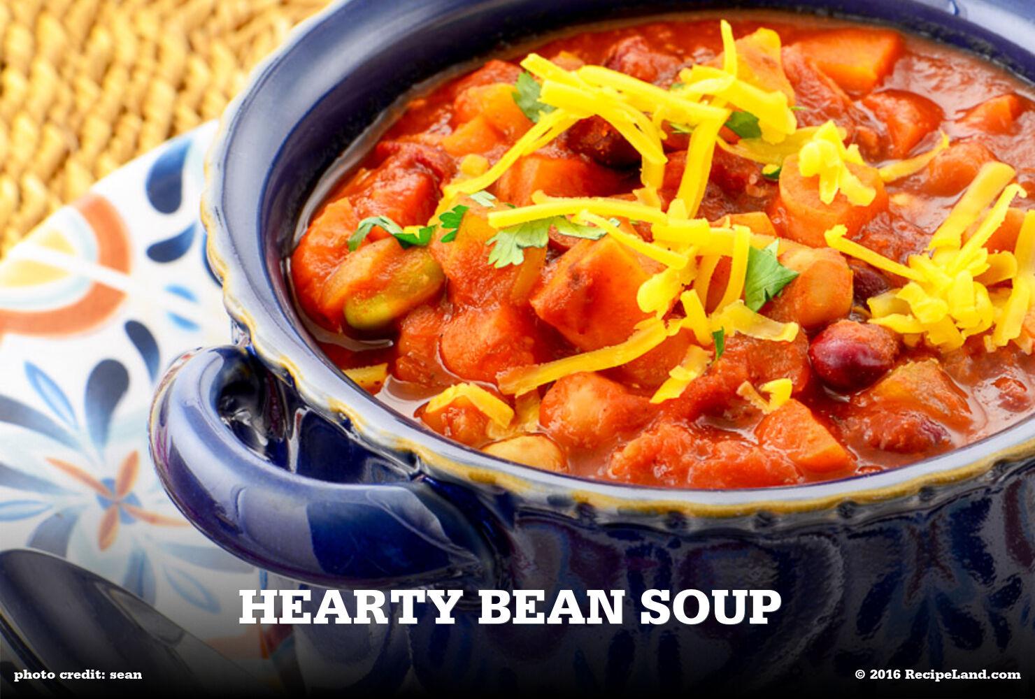 Hearty Bean Soup