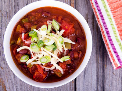A Working Woman's Chili