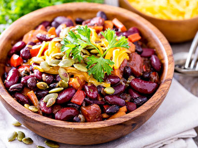 Bowl of Compassion Vegetarian Chili