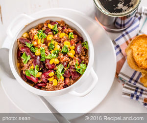 Chili with Beef and Beans