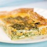 Spinach, Ricotta and Sweet Potato Tart