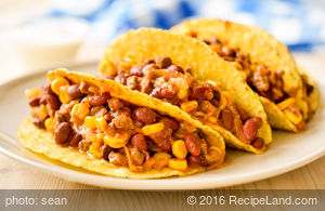 Cobble Corn Chili Tacos