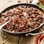 Black Bean Beef and Pork Chili