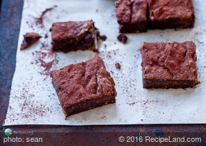 Avocado Chocolate Almond Brownies
