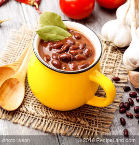 Spicy Red Bean Soup