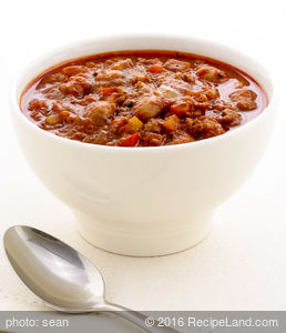 California Beef and Bean Chili