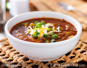 Chicken and Sausage Chili