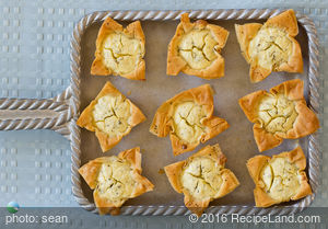 Savory Filo Cheese Cups
