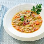 Creamy Vegetable Tahini Soup