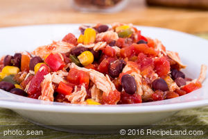 Black Bean and Chicken Chili