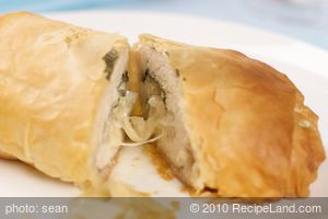 Chicken in Phyllo
