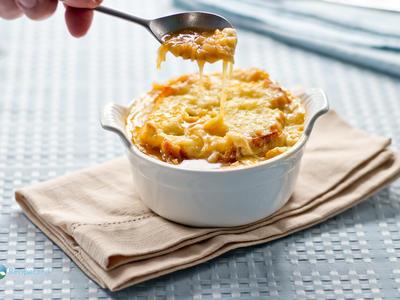 French Onion Soup : Au Pied De Cochon Re