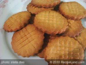 Homemade Peanut ButterCookies