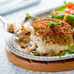 Baked Crusted Cod with Italian Breadcrumbs