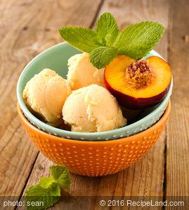 Ben and Jerry's Fresh Georgia Peach Ice Cream