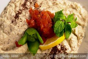 Spiced Baba Gannouj