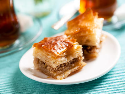 Baklava with Cooky Filling