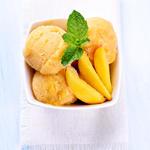 Favorite Peach Ice Cream