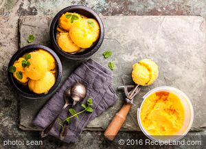Mango Ice-Cream