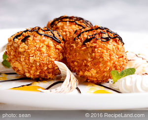 Fried Mexican Ice Cream