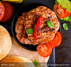 Beef Boulette Burgers